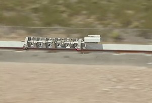 Hyperloop One first full-scale test