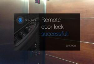 Hyundai Blue Link Google Glass app