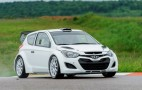 Hyundai WRC Shakedown Test Successful