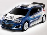 Hyundai i20 WRC concept, 2012 Paris Auto Show