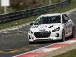 Hyundai i30 N race car on the Nürburgring