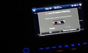 2017 Hyundai Ioniq Electric battery depleted