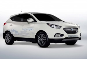 Hyundai Announces Hydrogen Fuel Cell Tucson: 2012 Paris Auto Show