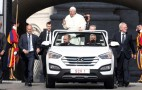 New Popemobile Is A Relatively Humble Hyundai Santa Fe