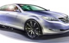 Hyundai previews RWD V8 sedan with Concept Genesis