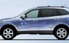 Hyundai reveals Santa Fe Blue Hybrid
