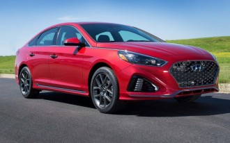 2018 Hyundai Sonata priced from $22,935
