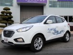 Hyundai Tucson Hydrogen Fuel-Cell Vehicle Enters Production