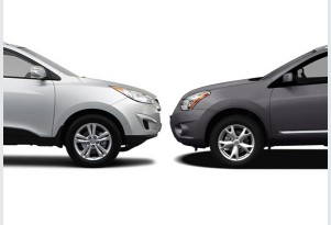 Hyundai Tucson Vs. Nissan Rogue: Compare Cars
