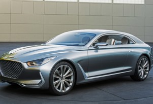 Genesis to offer high-end electric luxury coupe; so long, V-8