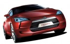 Hyundais sporty Veloster coupe concept