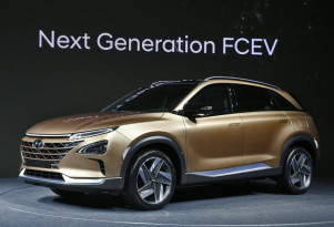 Hyundai Fuel Cell SUV concept: hydrogen crossover coming next year