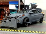 Hyundai's Elantra Coupe Zombie Survival Machine
