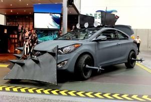 Hyundai's Elantra Coupe Zombie Survival Machine