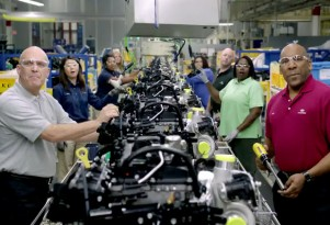Hyundai's line workers sing a cappella.
