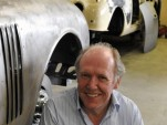Ian Callum at CMC's workshop in Bridgnorth, England