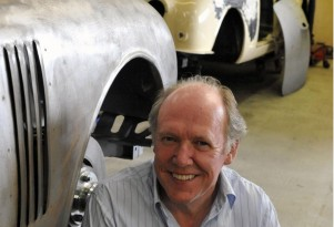 Ian Callum at CMC's workshop in Bridgnorth, England