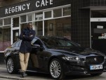 Idris Elba and the 2017 Jaguar XE