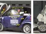 IIHS crash images from LSV and minitruck tests
