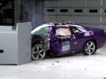 IIHS crash tests 2016 Dodge Challenger