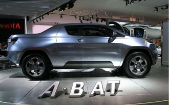 Toyota Seriously Studying Small A-BAT Truck