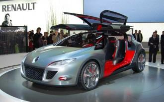 Renault at Geneva: Megane Coupe, Koleos, and Active Drive