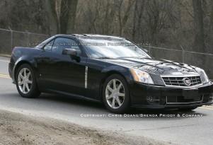 2009 Cadillac XLR, Caught Without Camo