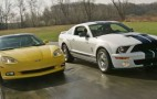 Car and Driver Compares Vette vs. GT500