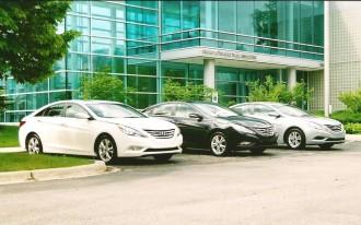 2011 Hyundai Sonata:  Three ways to move, reviewed