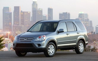 2006 Honda CR-V Recalled Due To Suspension Problem