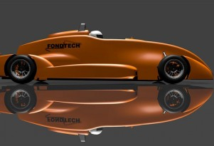 What Will A Formula E Electric Race-Car Look Like? Here's One Idea (VIDEO)