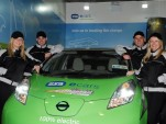 ESB ecars Nissan Leaf Cannonball team