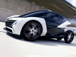 Vauxhall/Opel electric car concept for 2011 Frankfurt Auto Show