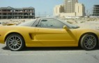 Acura NSX Abandoned In Dubai Gets Sold For Spare Parts