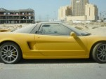 Acura NSX abandoned in Dubai
