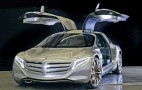 Mercedes-Benz F125 Hydrogen Gullwing Concept: 2011 Frankfurt Auto Show