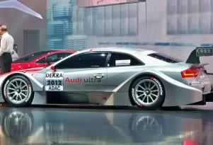 2012 Audi A5 DTM race car live photos