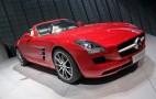 2012 Mercedes-Benz SLS AMG Roadster Live Photos: 2011 Frankfurt Auto Show