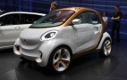 Smart Forvision Electric Car Concept: Frankfurt Live Photos