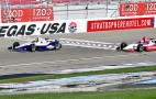2012 Indy Cars Do Demonstration Laps At Las Vegas