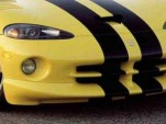 Impounded Dodge Viper turned into cop car