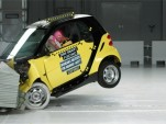 Impressive results for Smart ForTwo in IIHS crash-test