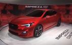 2017 Subaru Impreza Hinted By L.A. Show Concept: Live Photos