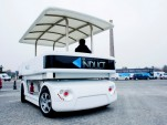 Induct Navia driverless electric shuttle