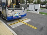 Inductive Power Transfer wireless charging used in Turin buses. [Image: Conductix-Wampfler]