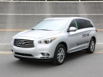 Infiniti JX Hybrid prototype, Nissan GranDrive test track, Oppama, Japan, Oct 2012