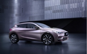 The 2015 Infiniti Q30 Concept Is The A-Class We'll Probably Never Get