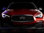 Infiniti Q50 Eau Rouge Concept teaser image