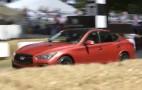 Infiniti Q50 Eau Rouge Prototype Makes Dynamic Debut At Goodwood: Video