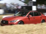Infiniti Q50 Eau Rouge prototype at 2014 Goodwood Festival of Speed